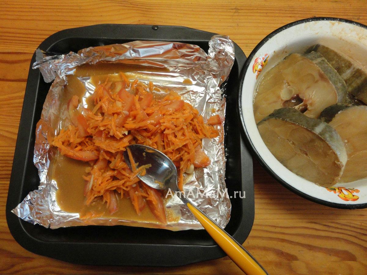 как приготовить стейк из трески в духовке простой рецепт