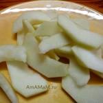 Паштет с яблоками (говяжья печень)