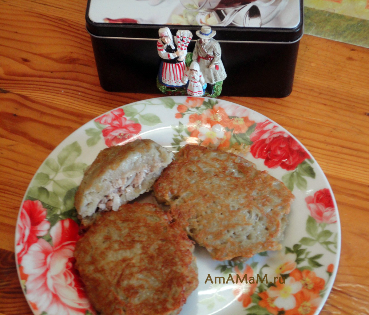Колдуны с мясом - Пошаговый рецепт с фото Разное