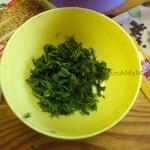 Зелень для мясного фарша - готовим начинку для корейских пирожков