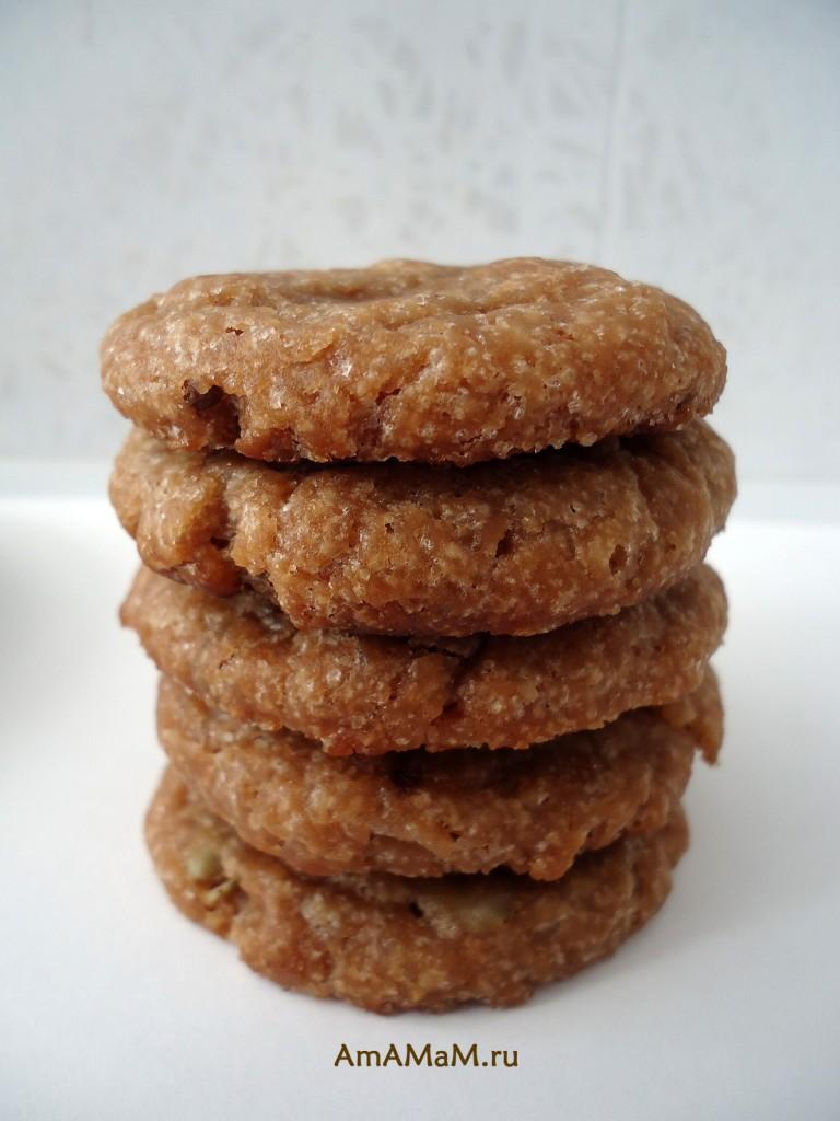 Столбик из печенья - домашние рецепты для Поста