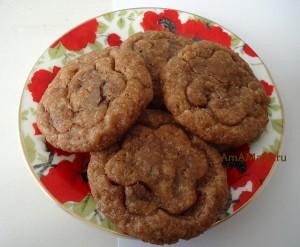 Быстрое печенье из простых продуктов - рецепт