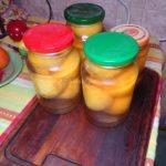 Компот из персиков (без стерилизации)