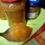 Варенье из бананов с персиками (джем)