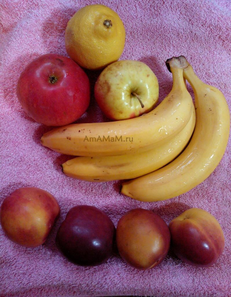 Ингредиенты и пропорции варенья из бананов