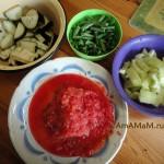 С чем готовить баранину - овощи