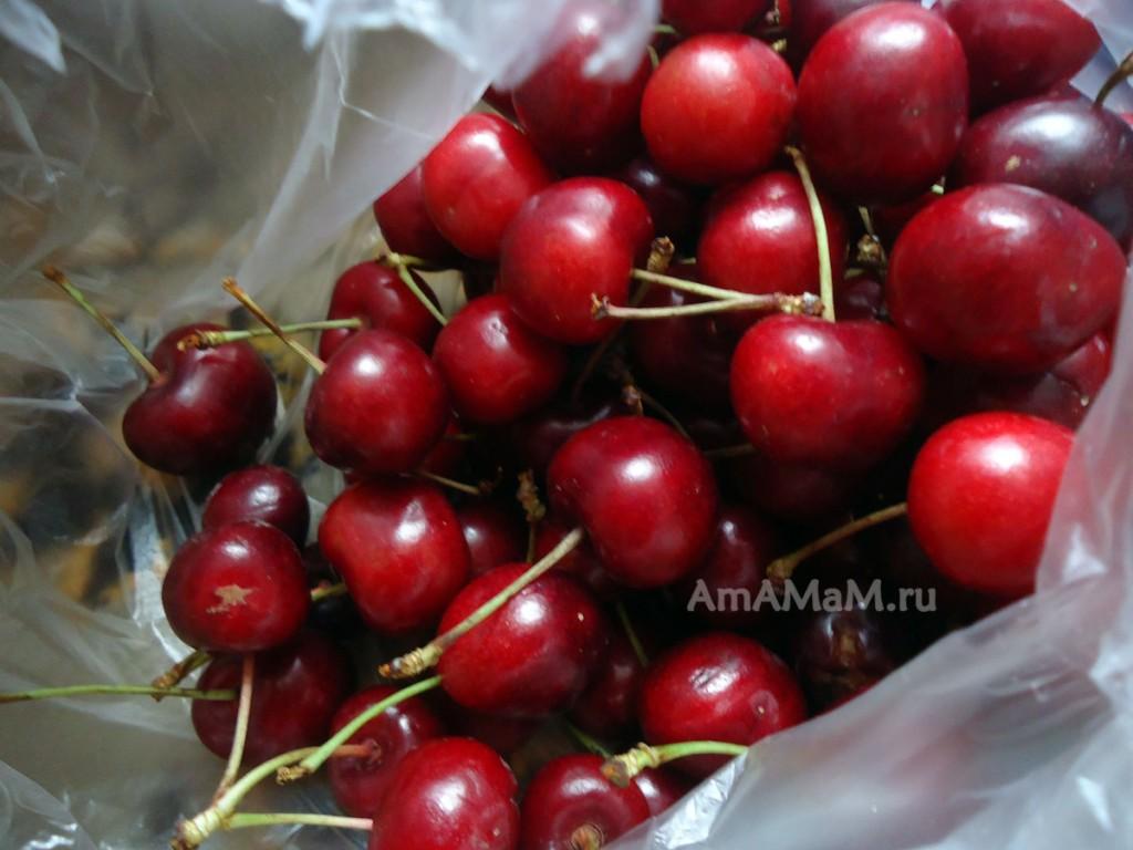 Как выглядят ягоды черешни - фото и рецепт заготовок из черешни