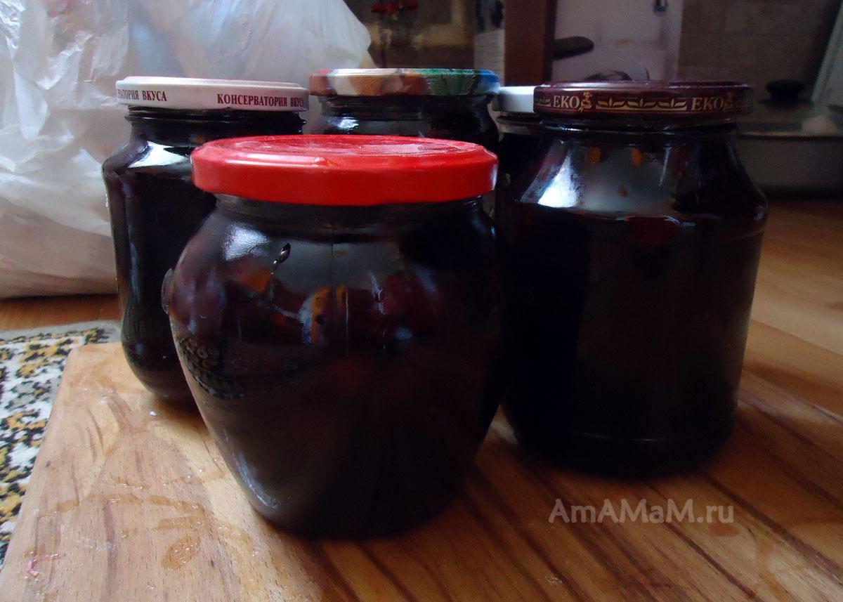 Варенья из вишни без косточек рецепт