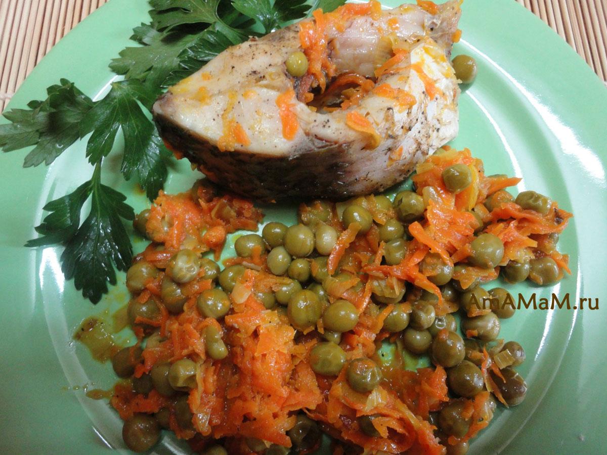 Рецепты блюд с рыбы