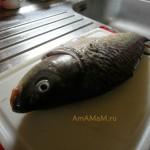 Как готовят крупную речную рыбу - рецепт, фото, видео