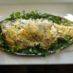 Запекание карпа в духовке с майонезом и сыром - простой рецепт, очень вкусно и просто!