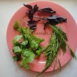 Залень и специи для пирога с бараниной (мясной пирог_