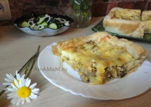 Что приготовить из баранины - рецепт вкусного открытого пирога
