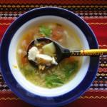 Картофельный суп из морского окуня