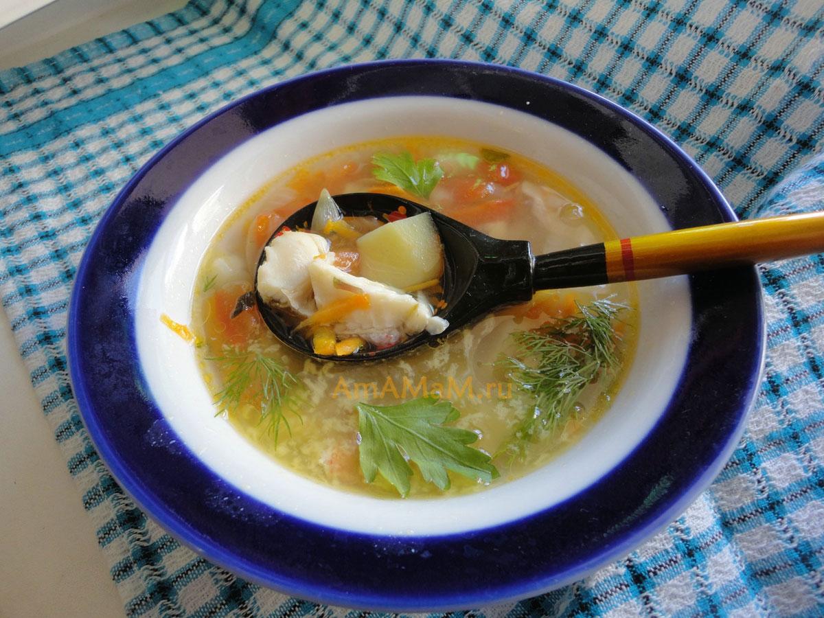 Рецепт супа с красной рыбой пошагово