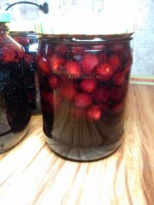 Лимонно-вишневое варенье с косточками  - вкусный рецепт