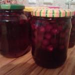 Заготовка вишни- рецепты