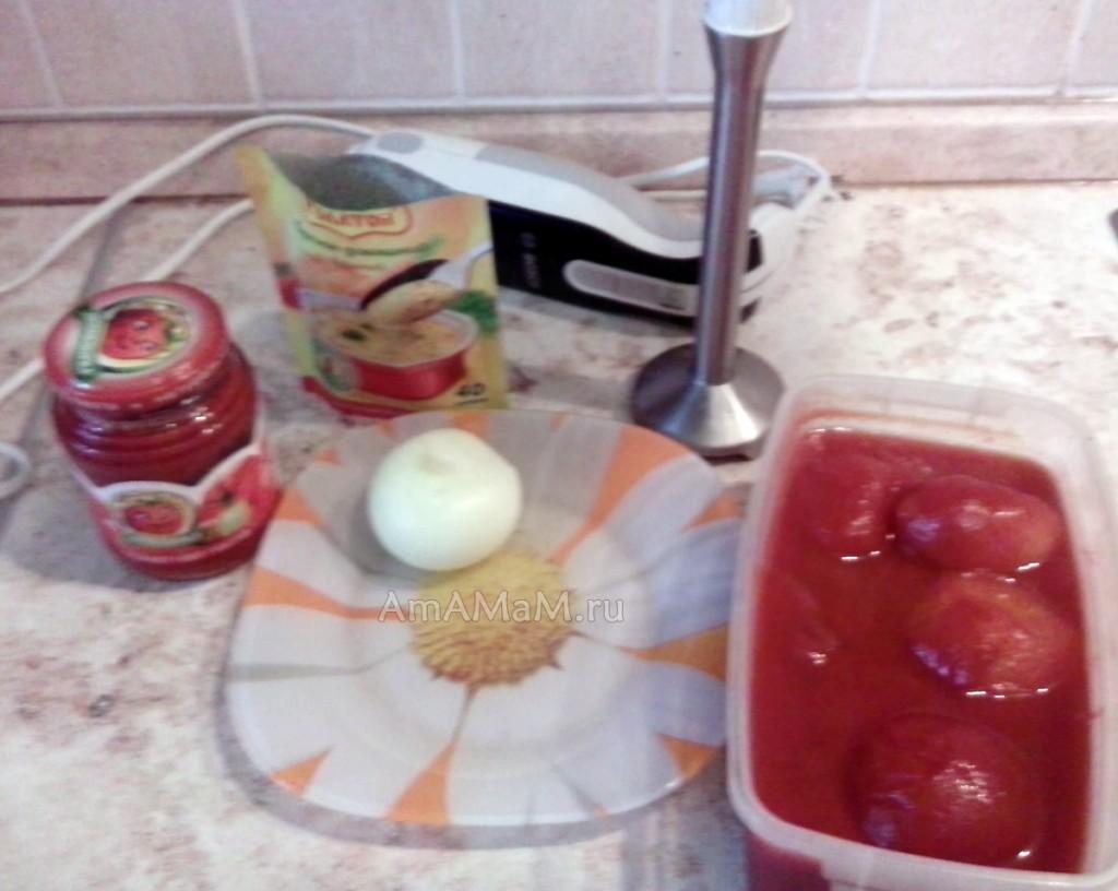 Соус томатный к рису и пасте - рецепт