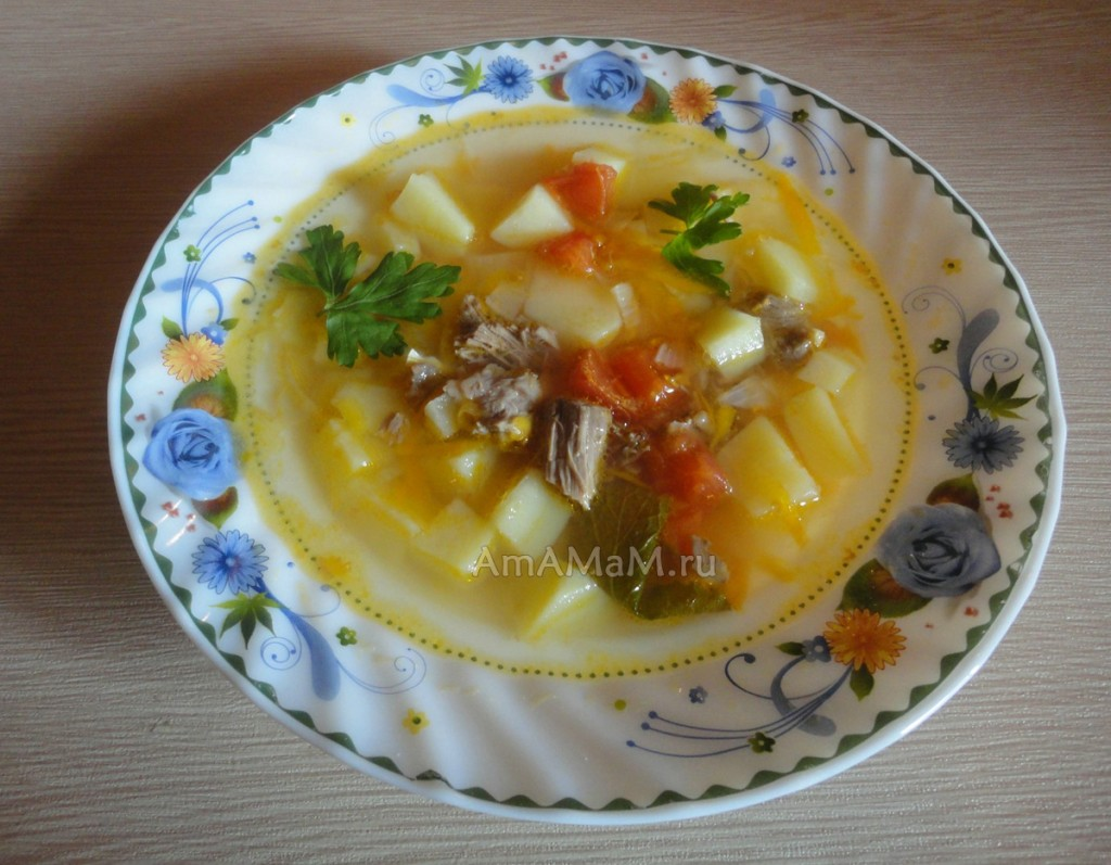 Рецепты домашних супов - баранина