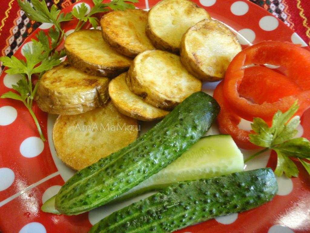 Картошка, огурцы и помидоры