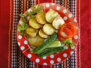 Как пожарить картошку в мундире