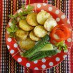 Жареная картошка в мундире