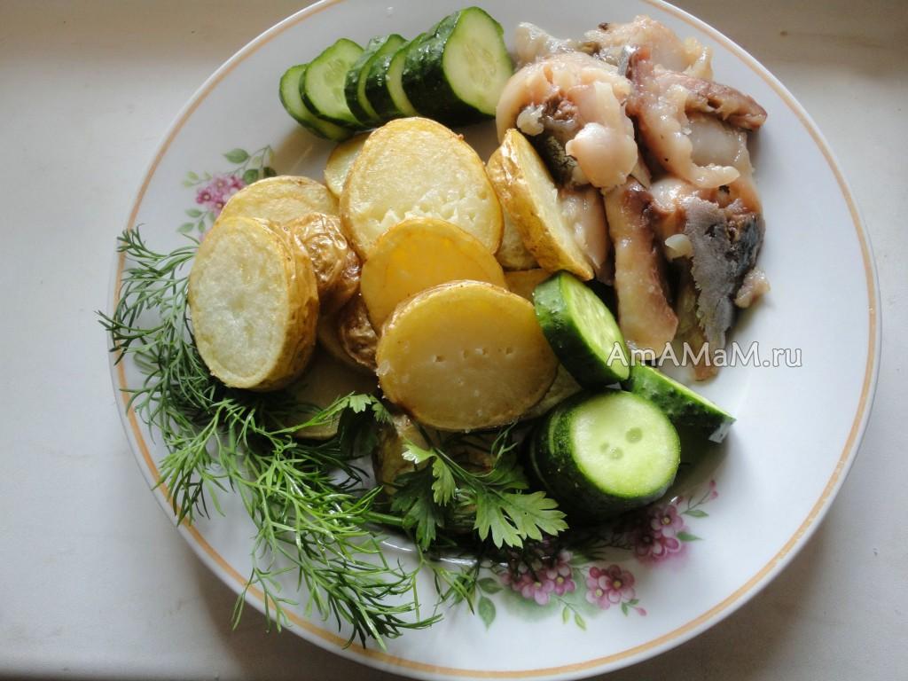 Рецепты приготовления молодого картофеля
