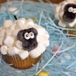 Как делают кексы-пирожные (украшение)