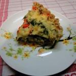 Французский открытый пирог (киш) с начинкой из цветной капусты