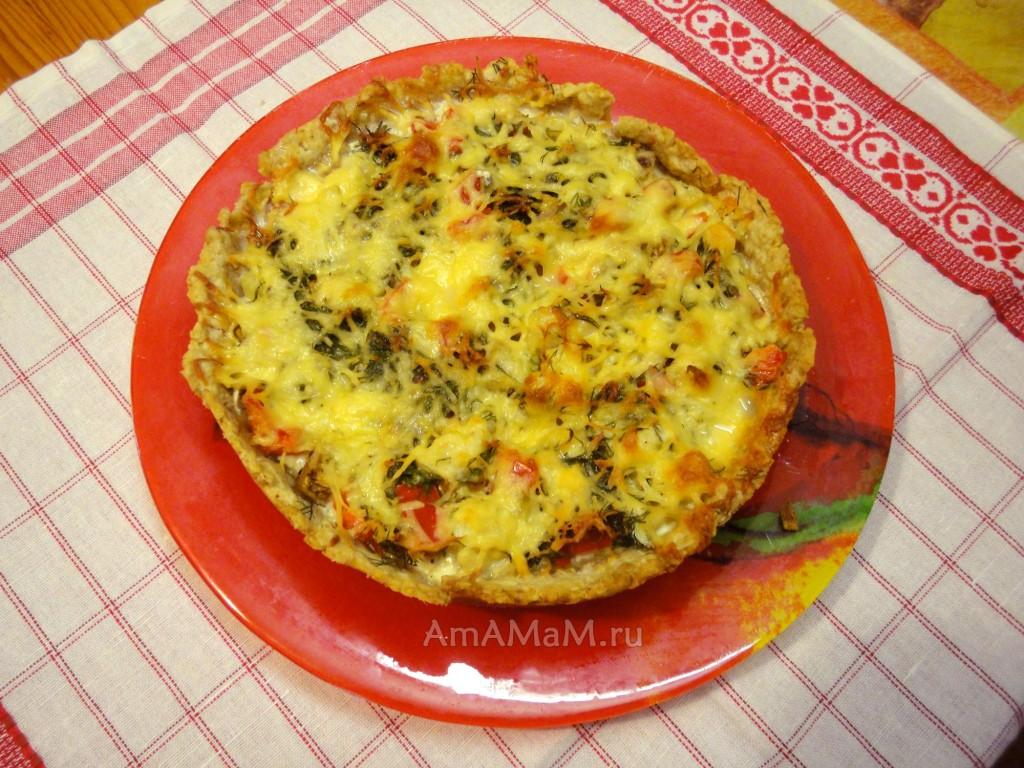Пирог киш рецепт с фото с капустой