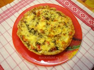 Рецепты вкусных пирогов с овощной начинкой (цветная капуста, помидоры, сыр)