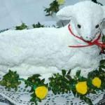 Как сделать торт-овечку - фото