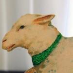 Голова овцы в профиль