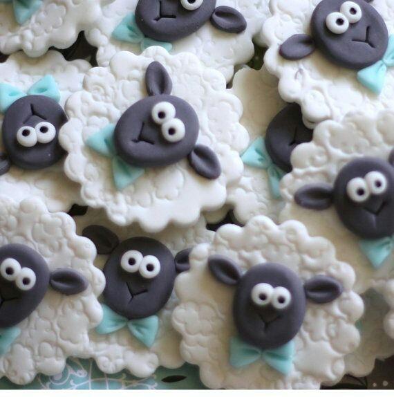 Картинки с овечками - фото печенья