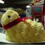 Торт в форме овечки