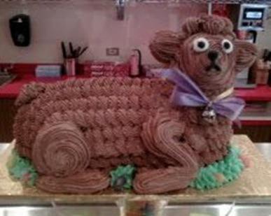 торт в виде барашка как приготовить