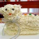 Как выглядит тортик в форме овечка