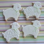 Как сделать овечек из печенья - фото