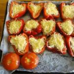 Пошаговый рецепт - фаршированный перец половинками