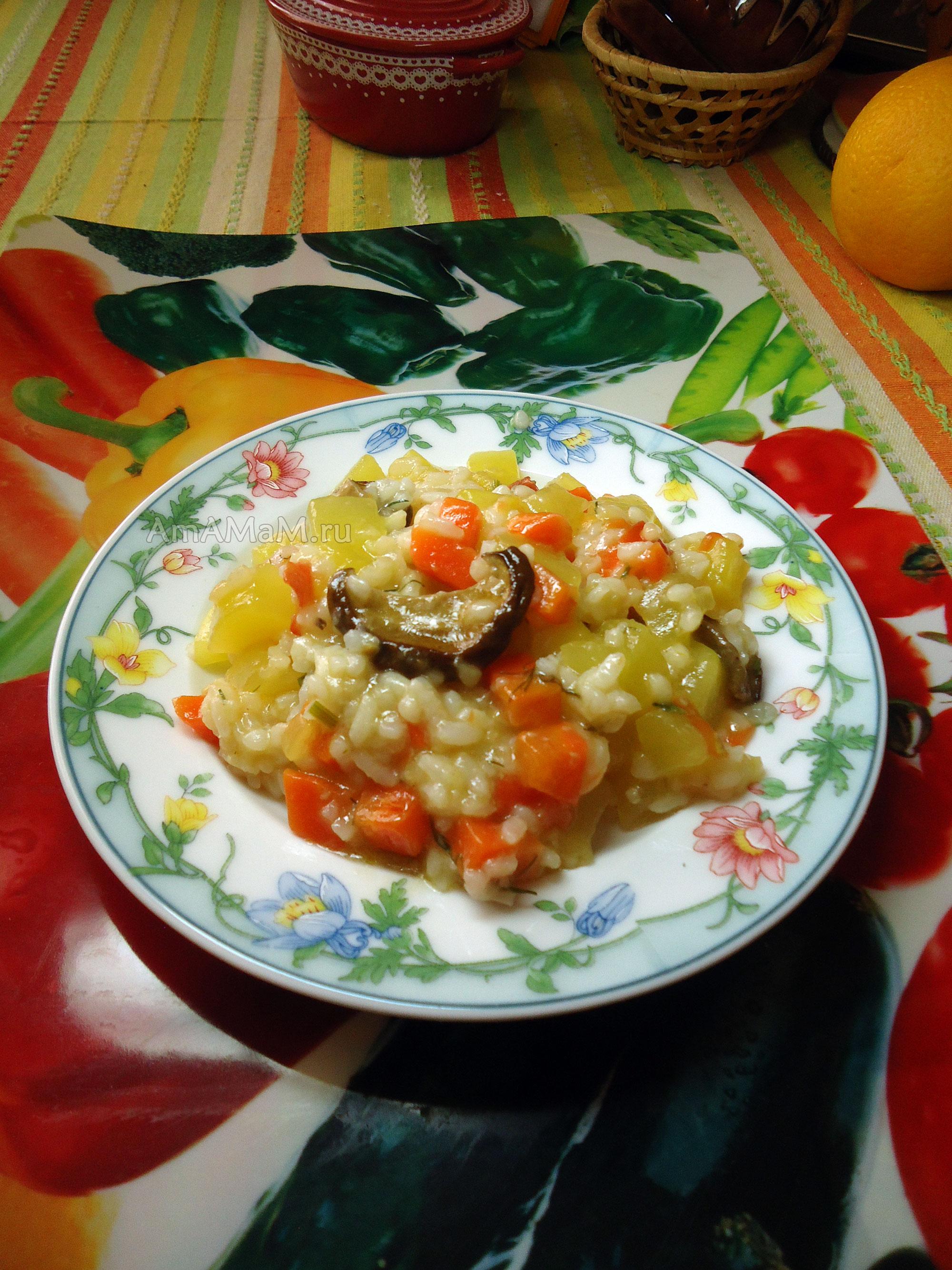 рецепт салата из кабачков с рисом