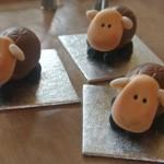 Рецепт овечек из шоколадных яиц