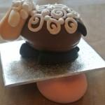 МК приготовления овечек из шоколадного яйца - пошаговые фото