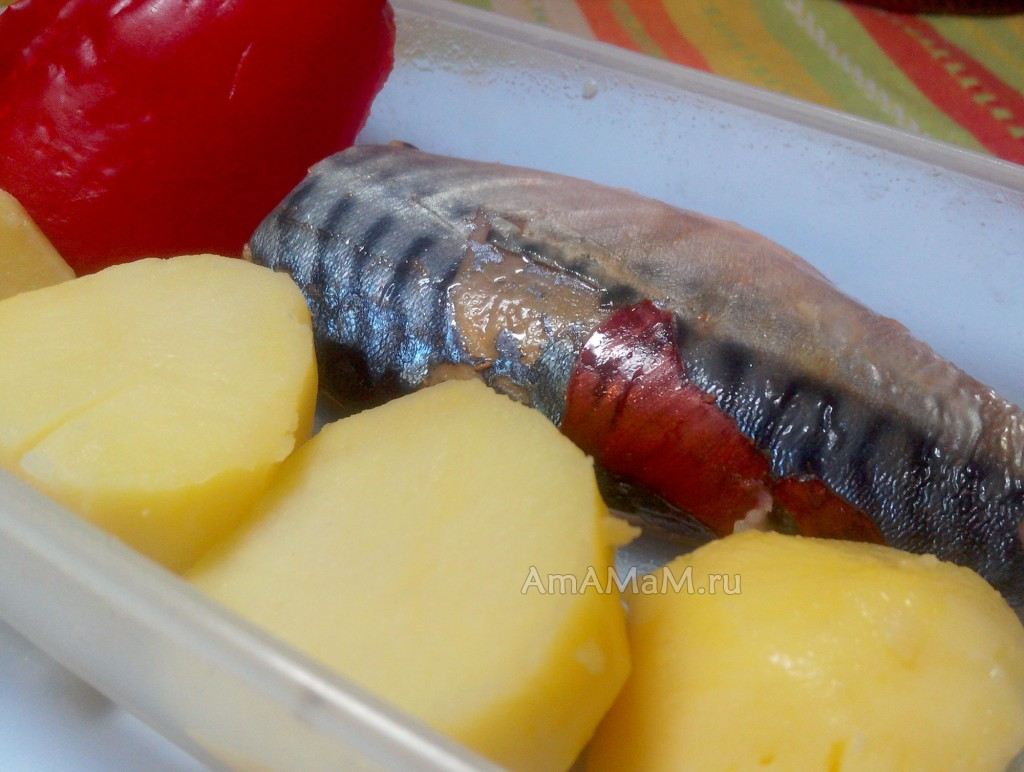 Что приготовить из скумбрии - рецепт и фото