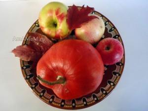 Фото яблочек с тыквой