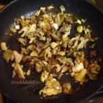 Рецепт омлета с грибной начинкой из вешенок