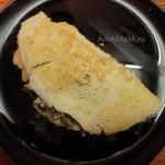 Грибная начинка в омлете -очень вкусный завтрак