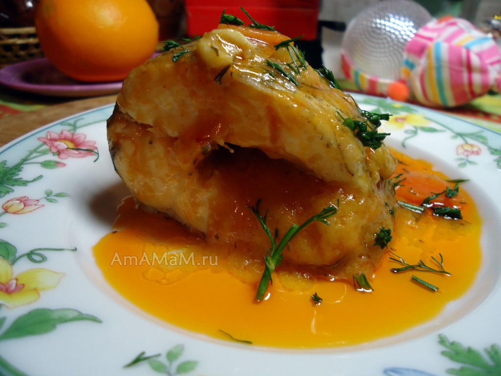 Вкусные рецепты рыбы в сладком соусе - аргентина