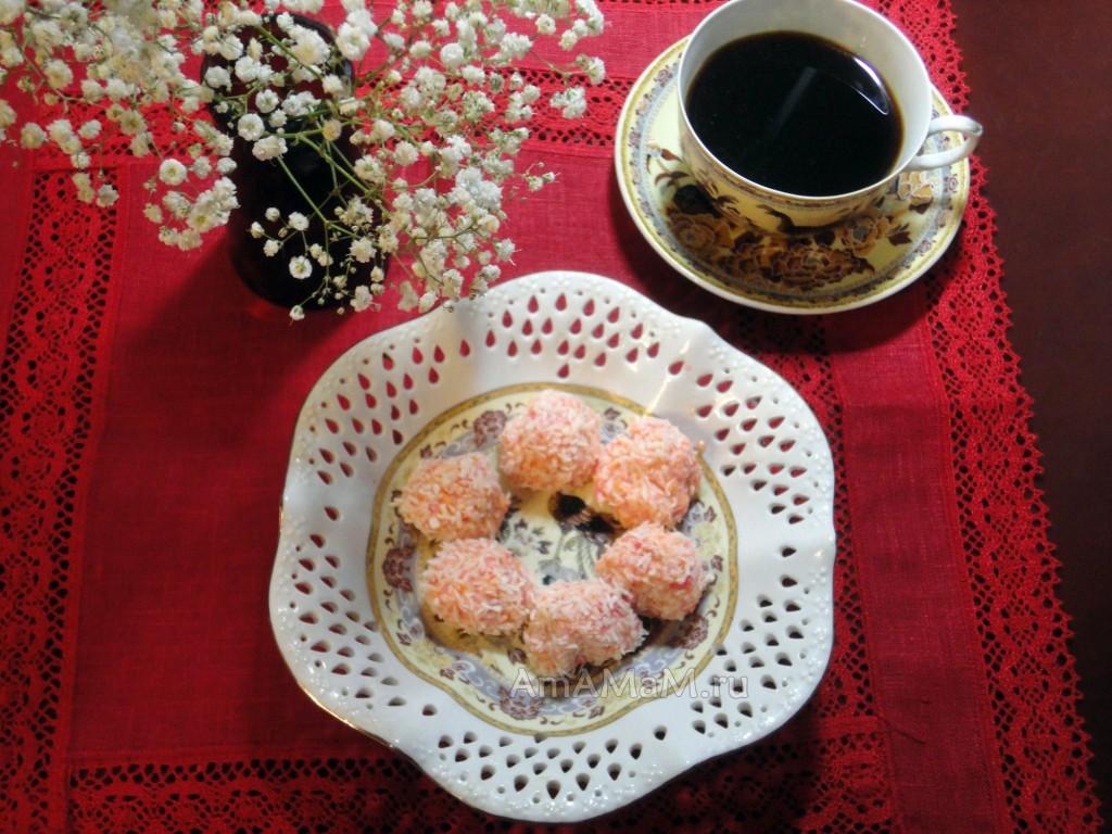Блюда праздничного стола - десерты