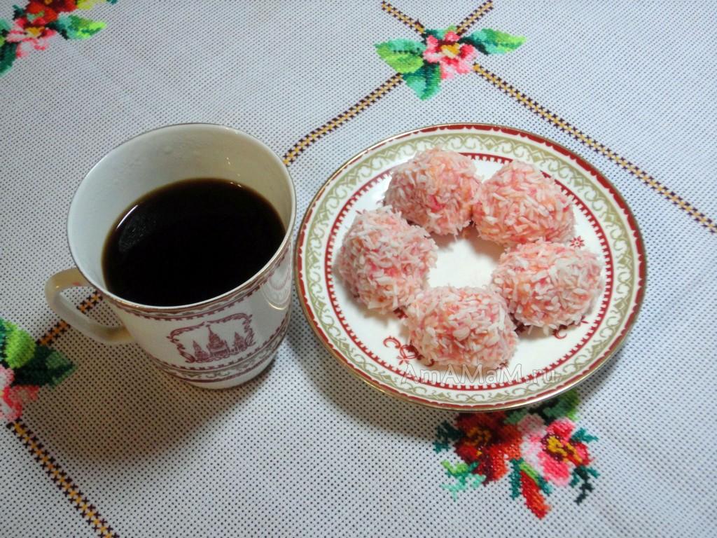 Рецепты домашних конфет и способ приготовления Рафаэлло