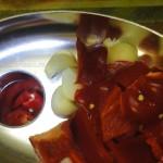 Способ приготовления маринованных помидоров (быстро)